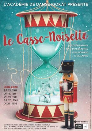 Affiche de l'évènement Spectacle de l'Académie de danse Igokat – Le Casse-Noisette