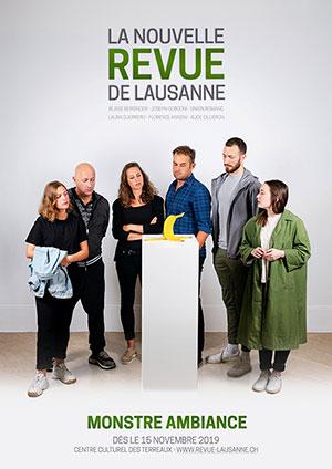 Affiche de l'évènement Humour – La nouvelle revue de Lausanne