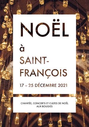 Affiche de l'évènement Avec l'Académie vocale de Suisse romande – Noël aux bougies