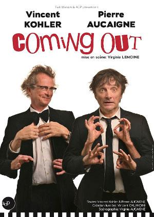 Affiche de l'évènement Humour – Pierre Aucaigne & Vincent Kohler - Coming Out