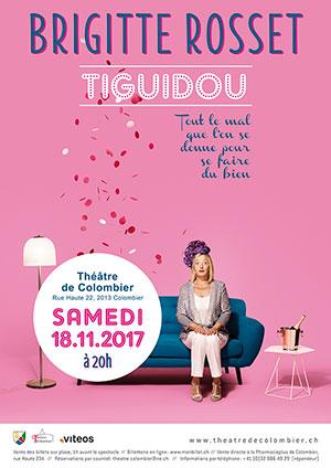 Affiche de l'évènement Humour – Tiguidou