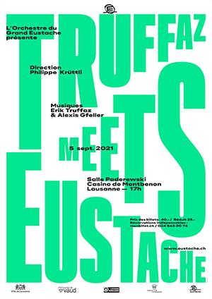Affiche de l'évènement Le Grand Eustache – Truffaz meets Eustache