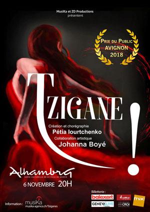 Affiche de l'évènement MusiKa et ZD productions présentent – Tzigane!
