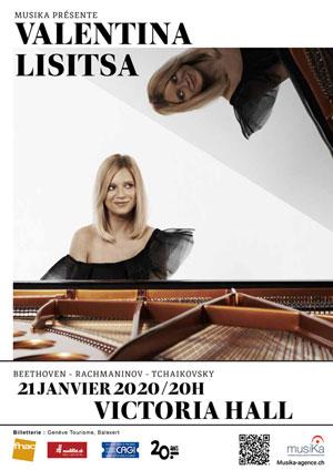Affiche de l'évènement MusiKa présente – Valentina Lisitsa