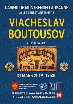 Affiche de l'évènement Nautilus Pompilius – Viacheslav Boutousov