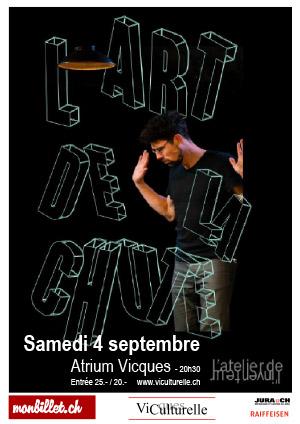 Affiche de l'évènement Théatre – Antoine Zivelonghi - L'Art de la Chute