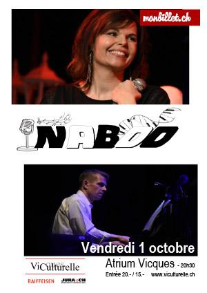 Affiche de l'évènement Musique – Sylvie Widmer et Cédric Eschmann - Naboo