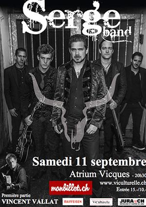 Affiche de l'évènement Concert – Serge Band: TERRE