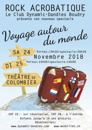 Affiche de l'évènement Dynamic Dandies – Voyage autour du monde