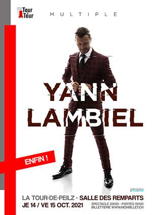 Affiche de l'évènement Multiple – Yann Lambiel