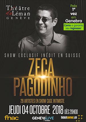 Affiche de l'évènement Unique concert en Suisse romande – Zeca Pagodinho
